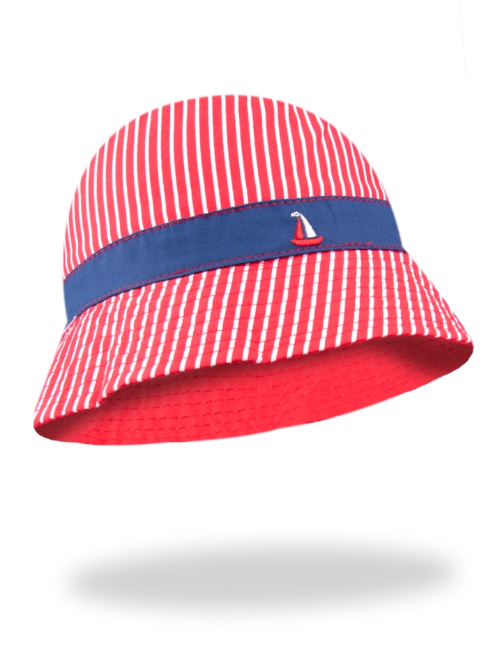 8761 Klobúk CKA-178-HAT IN STRIPES-50-54 cm